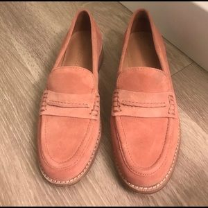 *Madewell* Elinor Loafer size 6 Dusty Clay color!